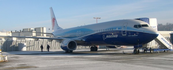EASA Validation testing of the Boeing 737-900 in Seattle
